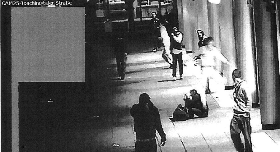 Berliner Studentin brutal angegriffen