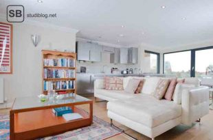 Hamburg und sein großzügigster Vermieter - das Bild zeigt eine neue Penthousewohnung