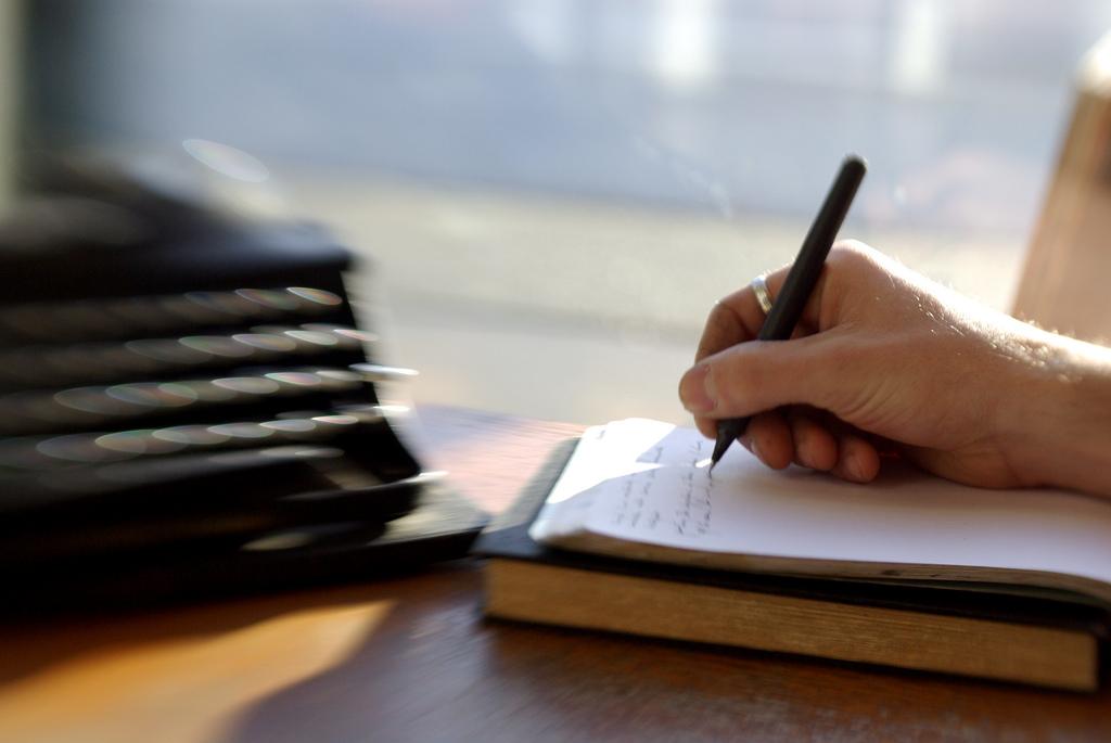 warum schreibe ich überhaupt