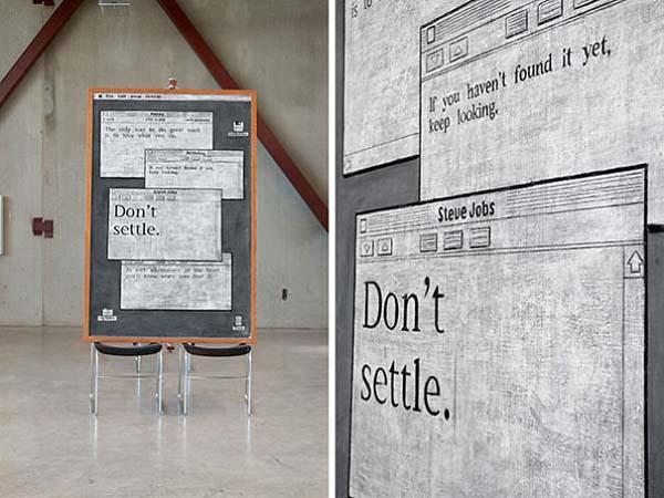 Kunstwerke auf Tafeln - Computer Bildschirm 2