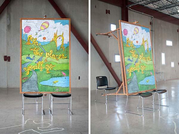 Kunstwerke auf Tafeln - Dr Seuss