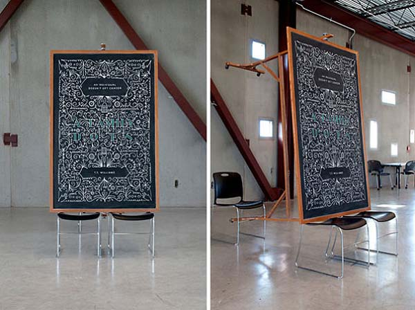 Kunstwerke auf Tafeln - T.T. Williams