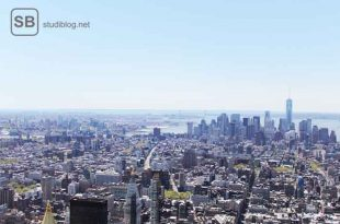 pj - praktisches jahr - in den usa - panorama von new york city