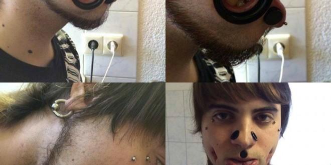Wenn Piercings zur Sucht werden