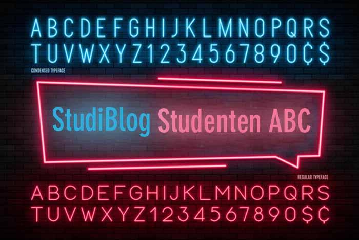 Das Studenten ABC als Orientierung für Erstis und andere Studenten