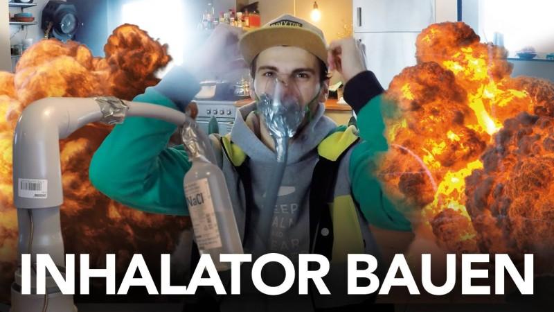 Fynn Kliemann baut Inhalator