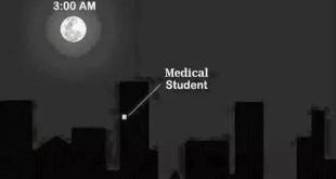 3 Uhr morgens als Medizinstudent
