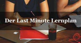 Klausuren bestehen: Last minute Lernen