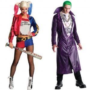 Halloweenkostüm 2016: Harley Quinn und Joker