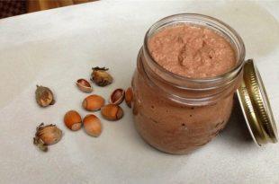 Nutella selber machen - frischer Nouss-Nougat-Aufstrich im Glas.