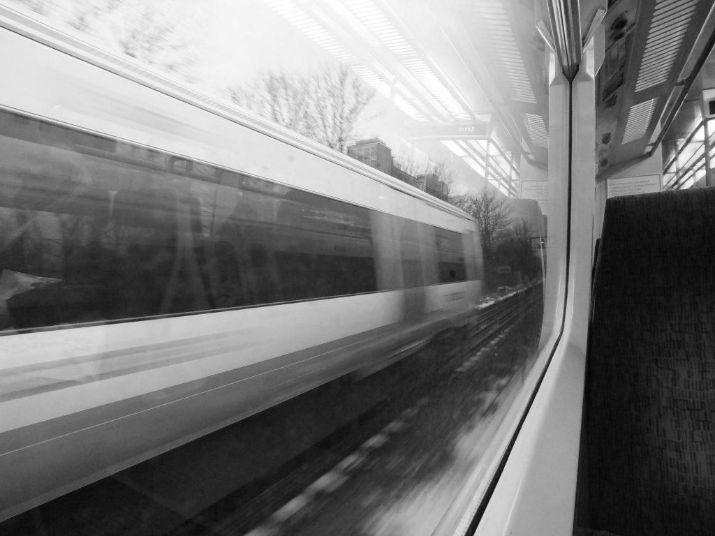 Im Zug nach Irgendwo