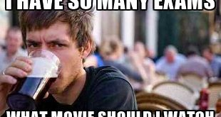 Meme: Ich hab so viel zu tun, welche Filme soll ich nur anschauen?! - Prokrastination