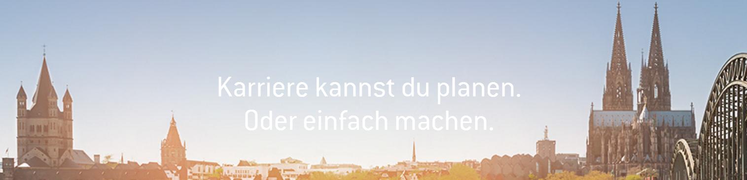 Abolventenkongress Köln: Karriere kannst du planen. Oder einfach machen.
