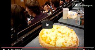 Schüttelkuchen Mandarinen während der Vorlesung