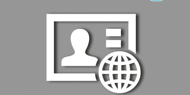Ein internationaler Studentenausweis (ISIC) in schematischer Darstellung.