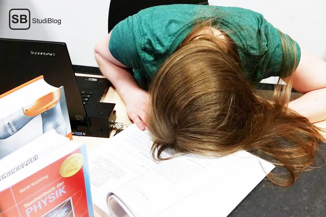 Einen Lernplan schreiben für die Prüfungsphase.