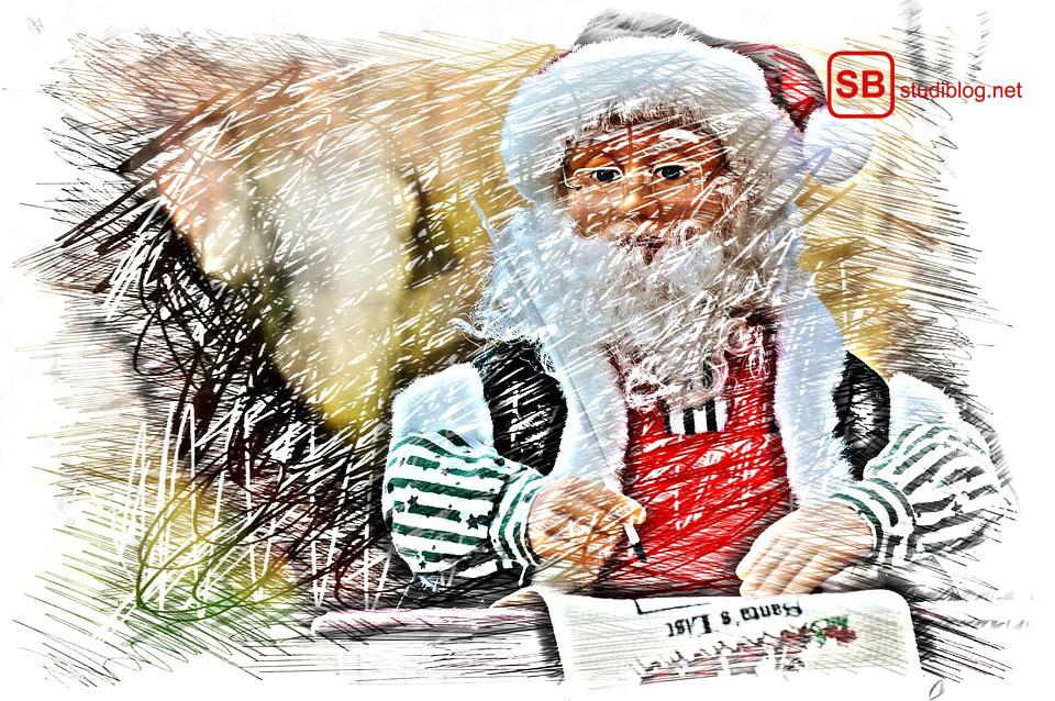 Lieber Weihnachtsmann - ein Wunschzettel