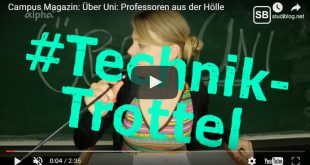 Nervige Professoren - Über Uni, Technik-Trottel