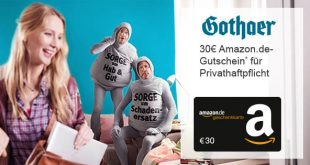 Gothaer Privathaftplicht - Bonus-Deal mit Amazon-Gutschein