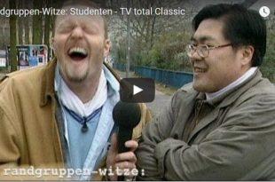Beitragsbild zum Video der Randgruppenwitze über Studenten von Stefan Raab