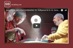 Screenshot zum Video Betrunkene schreiben ein Drehbuch