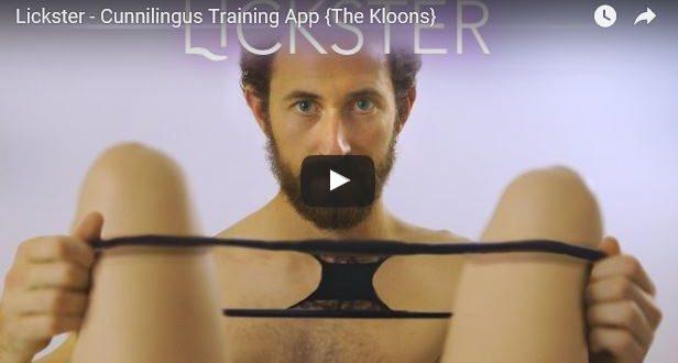 Beitragsbild zum Lickster Video - Lickster ist eine App mit der man Oralverkehr üben kann ohne sich zu blamieren