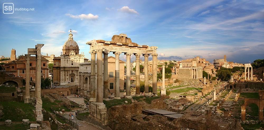 Reise-Tipps: 5 Orte in Rom, die du besuchen solltest: Forum Romanum