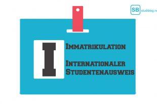 Internationaler Studentenausweis, Immatrikulation