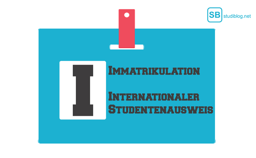 Internationaler Studentenausweis, Immatrikulation