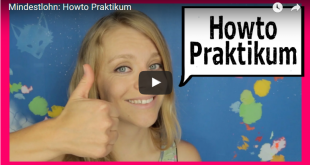 Über Uni: How to Praktikum - Mindestlohn