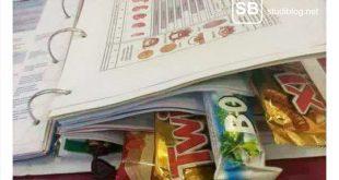 Motivationstipp: Schokolade zwischen die Seiten eines Buches.