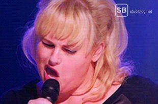 Fat Amy singing - zum Thema Dinge die man in der Vorlesung nicht tun sollte