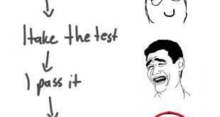 I study, i take the test, i pass it, i forget what i learnt