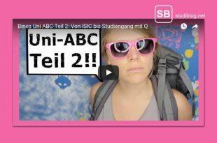 Uni-ABC Teil 2