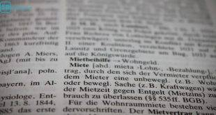 Begriffe rund ums Wohnen: Der Lexikon-Eintrag für Miete