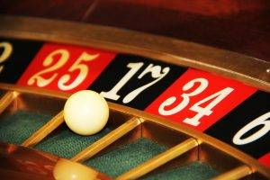 Online Casino: Roulette Nahaufnahme