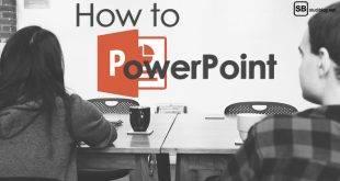 How to PowerPoint: Ein Junge und ein Mädchen sitzen vor einem Whiteboard