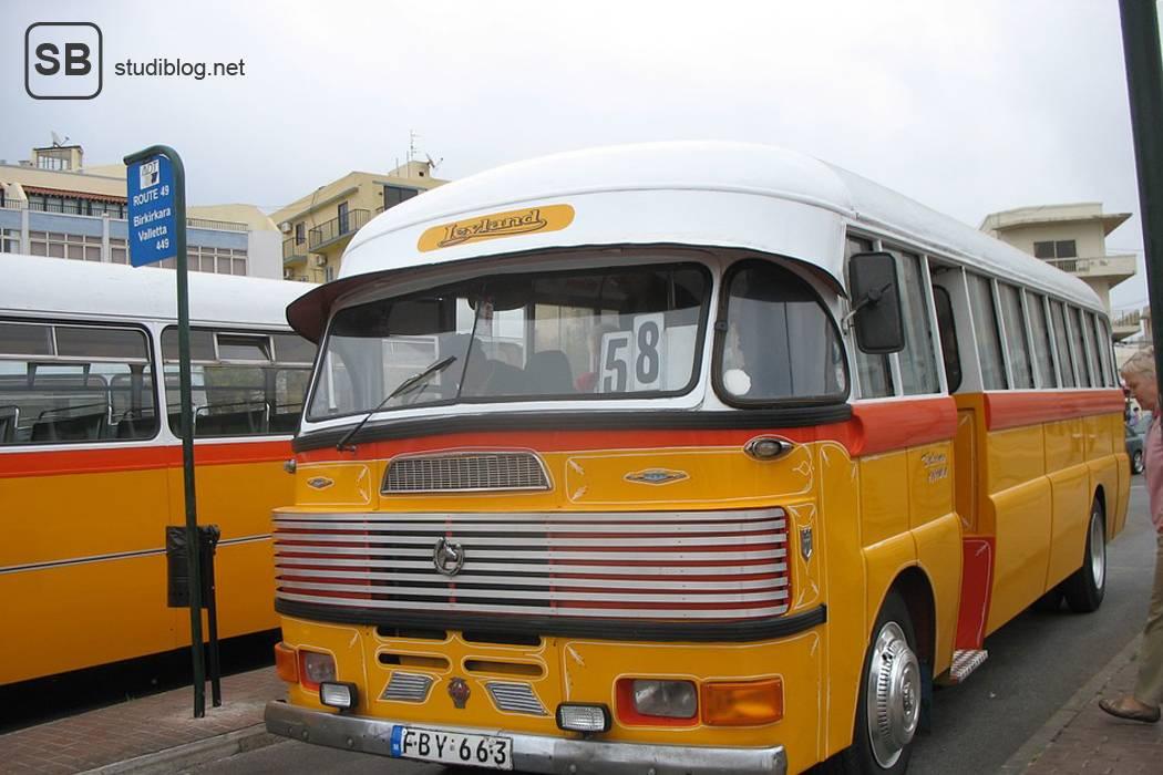 Bus auf Malta