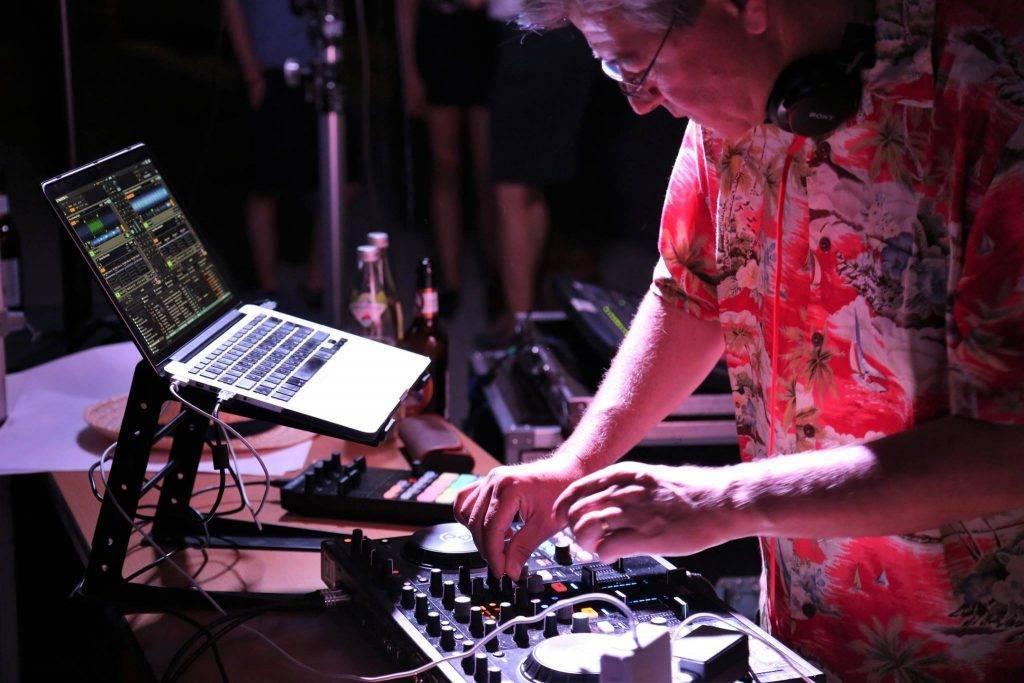 DJ-Contest beim Campusfest der TH Deggendorf mit Pro. Dr. DJ Christian Zich