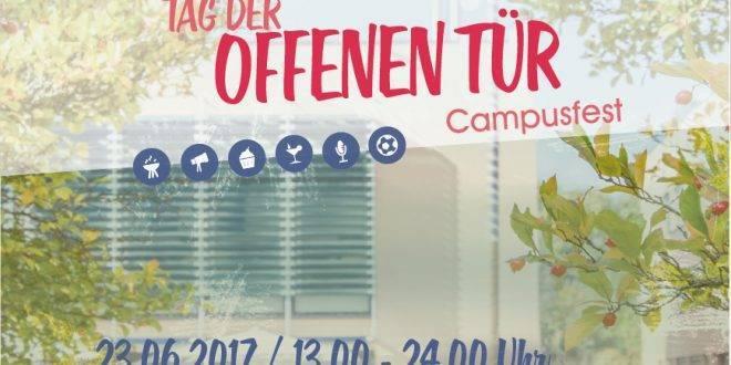 Campusfest / Tag der offenen Tür TH Deggendorf: 23.06.2017 | 13:00 - 24:00 Uhr