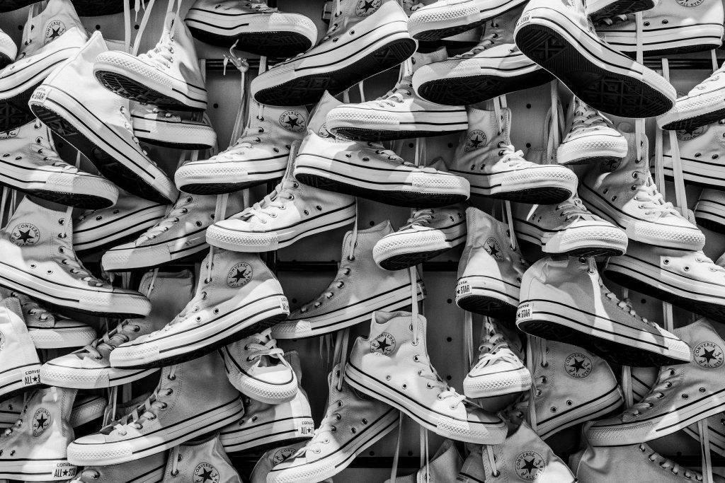 Trend der 90er: Converse Allstar / Chucks in weiß