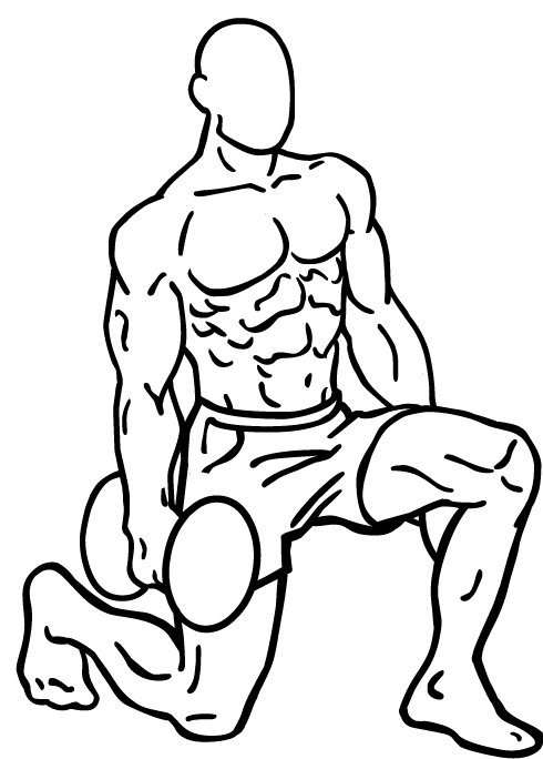 Ausfallschritte / Lunges zur Behandlung von Cellulite