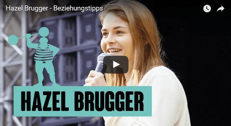 Poetry Slammerin Hazel Brugger: Beziehungstipps (YouTube Thumbnail)
