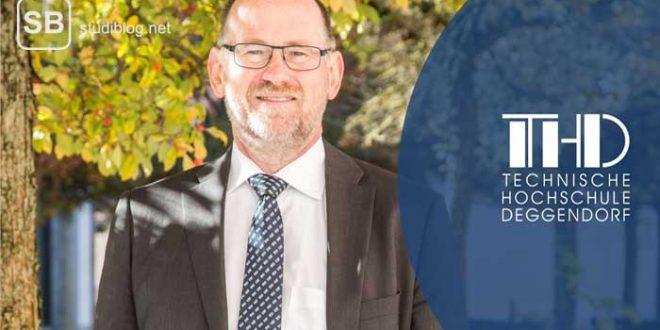 Peter Sperber, Präsident der TH Deggendorf