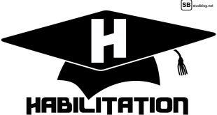 H wie Habilitation: Abschluss-Kappe