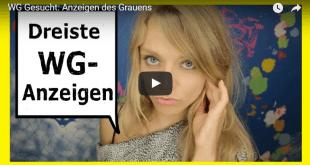 Sex-WG: Anzeigen des Grauens