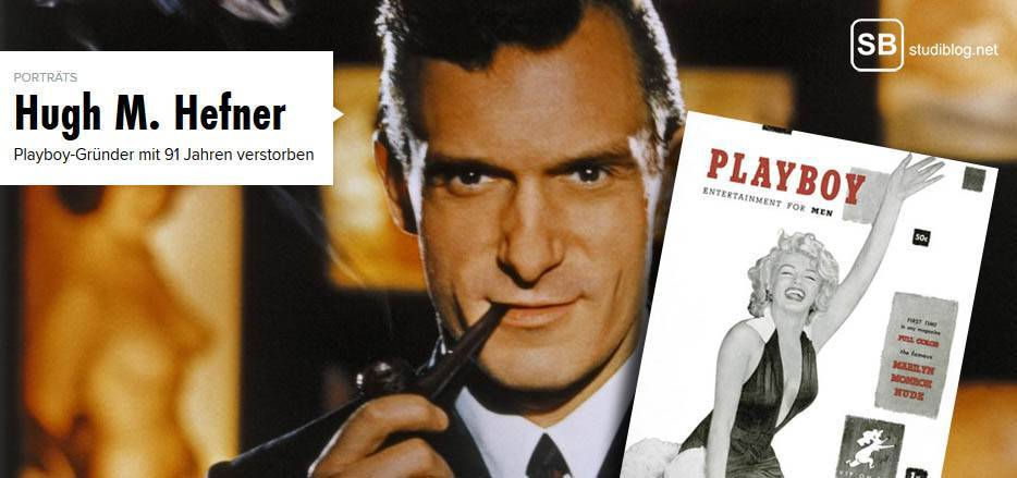 Playboy Gründer und Bunny-Maker Hugh Hefner stirbt mit 91 Jahren