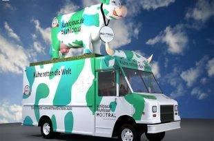 Kuhlicious Food Truck mit Mootral-Logo