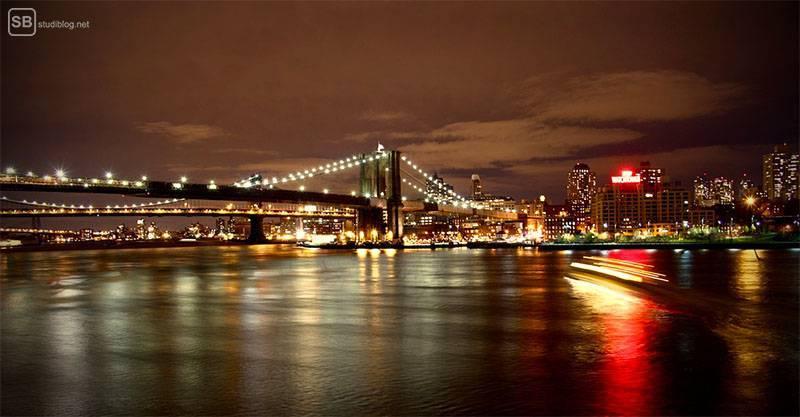 Städte-Trip Top 3: Amerika, New York bei Nacht