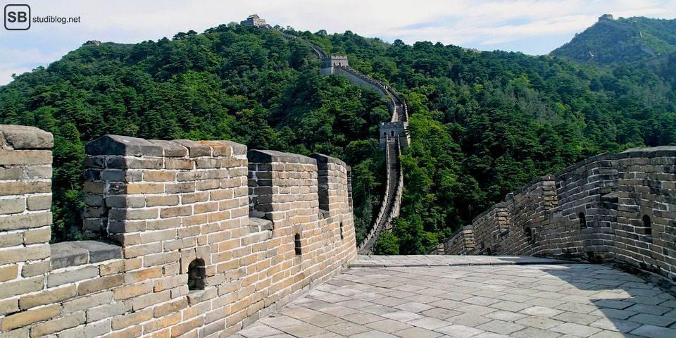 Städte-Trip Top 3: China, Peking: Chinesische Mauer